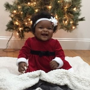Other - Baby girl Christmas outfit